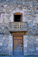 Foto van Door and window of a house in Dilijan - Armenia