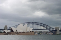Foto van Sydney Opera House and Sydney Harbour Bridge - Australia
