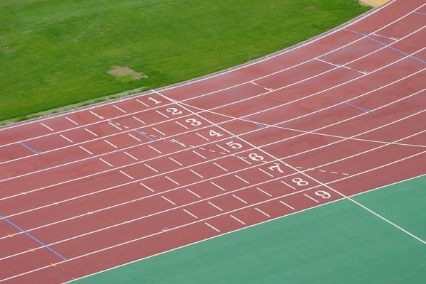 Send picture of Running track in Sydney Olympic Stadium from Australia as a free postcard