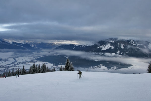 Send picture of Skiing at Sankt Johann in Tirol from Austria as a free postcard