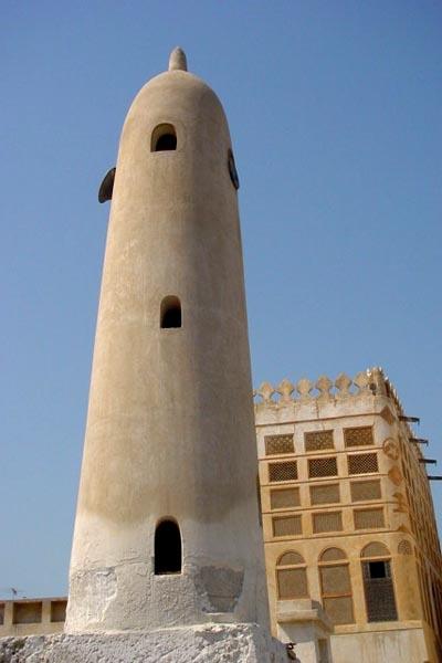 Stuur foto van Minaret in Manama van Bahrein als een gratis kaart