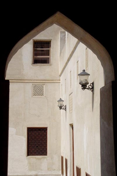 Send picture of Typical Bahrain architecture from Bahrain as a free postcard