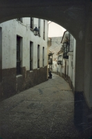 Foto de Narrow alley in Copacabana - Bolivia
