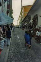 Picture of A street in La Paz  - Bolivia
