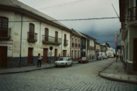 Picture of Quiet Bolivian street - Bolivia