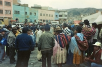 Picture of People in La Paz - Bolivia