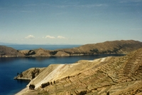 Foto de View over Lake Titicaca - Bolivia