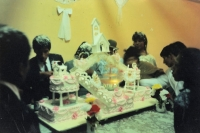 Photo de Bolivian wedding cake  - Bolivia