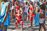 Foto di Brazilian girl dancing in Rio de Janeiro - Brazil