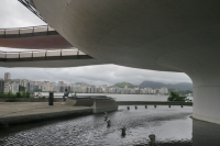 Photo de View over Rio de Janeiro from Museu de Arte Contempornea in Niteroi - Brazil