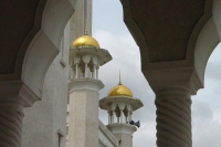 Foto van Detail from a Brunei mosque - Brunei