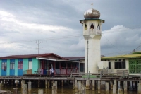 Picture of Minaret in Kampung Ayer - Brunei