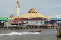 Foto de Mosque in Kampung Ayer  - Brunei