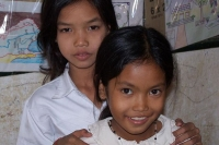 Foto de Young students in a Cambodian school - Cambodia