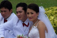 Foto de Couple getting married in Phnom Penh - Cambodia