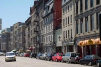 Picture of Rue de la Commune in Montreal - Canada