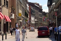 Picture of Montreal street and people - Canada