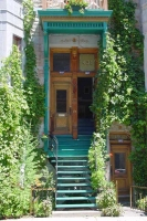 Picture of Montreal house with stairs - Canada