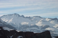 Foto di View over the Andes mountains - Chile