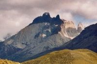 Foto di Snowcapped mountains at Torres del Paine - Chile