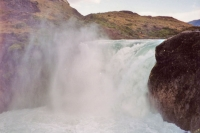 Picture of Waterfall at Torres del Paine - Chile