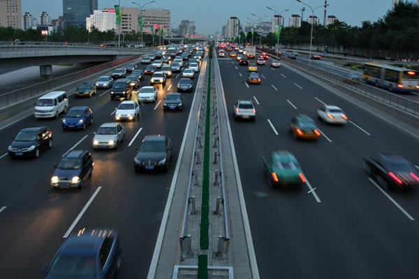 Send picture of Road in Peking from China as a free postcard
