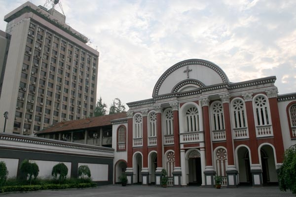 Send picture of Christian church in Chengdu from China as a free postcard