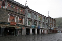 Foto van Tagong houses - China