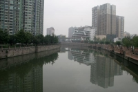 Foto van Modern buildings in Chengdu  - China