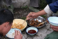 Foto van Tibetan food - China