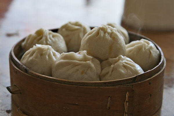 Send picture of Chinese dumplings from China as a free postcard
