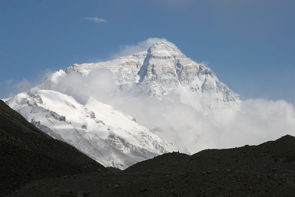 Send picture of The mighty Mount Everest from China as a free postcard