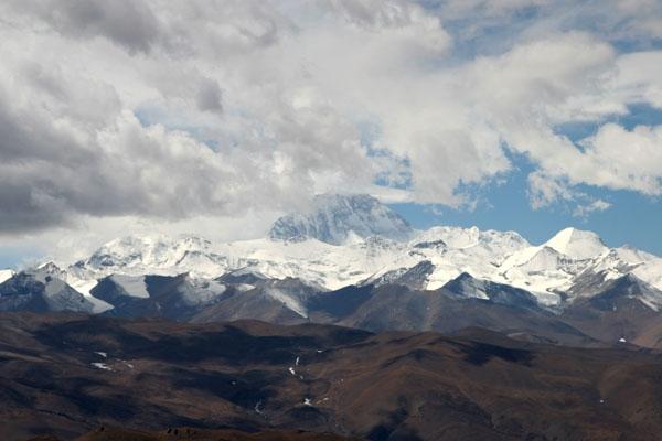 Envoyer photo de View over Mount Everest de Chine comme carte postale électronique