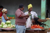 Photo de Cuban vegetable stall - Cuba
