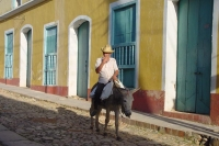 Photo de Man on mule - Cuba