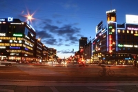 Picture of Copenhagen by night - Denmark