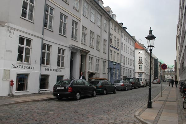 Street in downtown Copenhagen