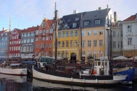 Picture of Houses in Nyhavn, Copenhagen - Denmark