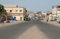 Foto van Street leading to the main square in Djibouti - Djibouti