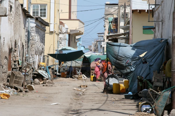 Send picture of Streets in Djibouti can be pretty messy from Djibouti as a free postcard