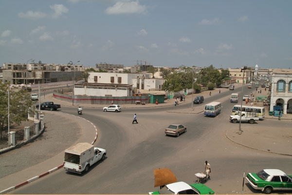 Send picture of Djibouti traffic from Djibouti as a free postcard