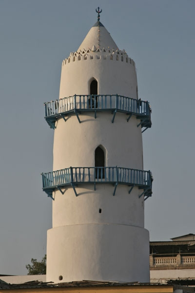 Send picture of Minaret in Djibouti town from Djibouti as a free postcard