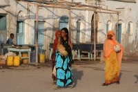 Picture of Lovely and colorful ladies from Tadjoura - Djibouti