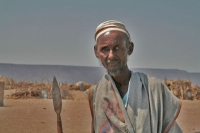 Picture of Man from a desert village near Dikhil - Djibouti