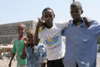 Photo de Boys near Dikhil - Djibouti