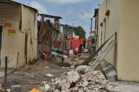 Photo de Houses, street and rubble in Djibouti town - Djibouti