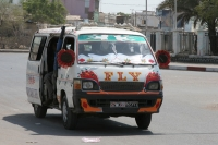Picture of Pretty fly for a white bus - Djibouti