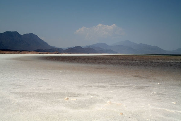 At 153 m below sea level Lac Assal is the lowest point in Africa
