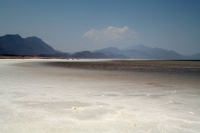 Foto van At 153 m below sea level Lac Assal is the lowest point in Africa - Djibouti