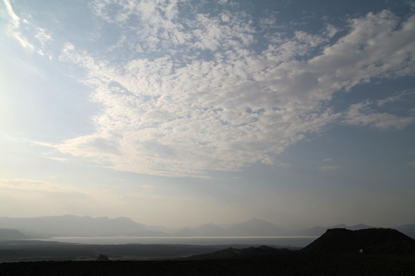 View from one of Djibouti's many volcanos